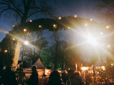 デ・ハール城のクリスマスマーケット